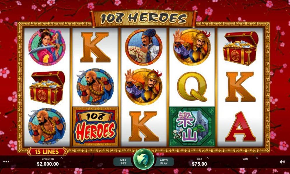 108 Heroes Slot UK