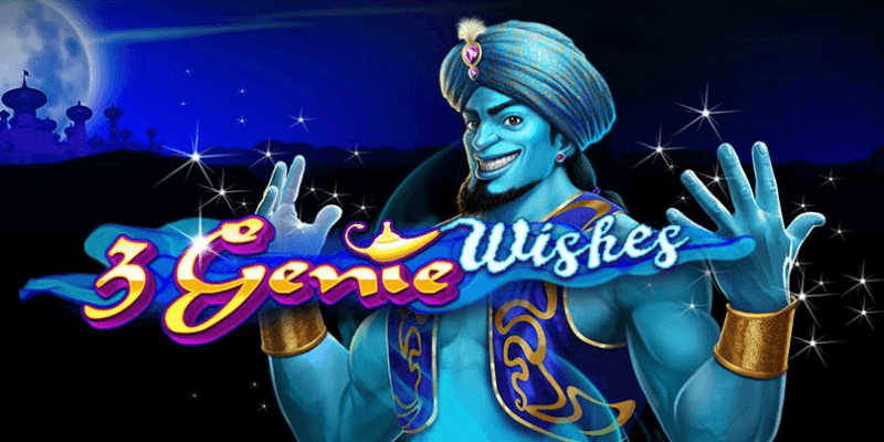 3 Genie Wishes slot logo