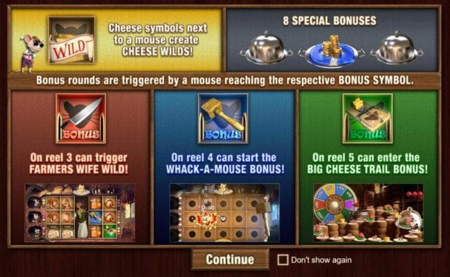 3 Blind Mice Slot Bonus Features