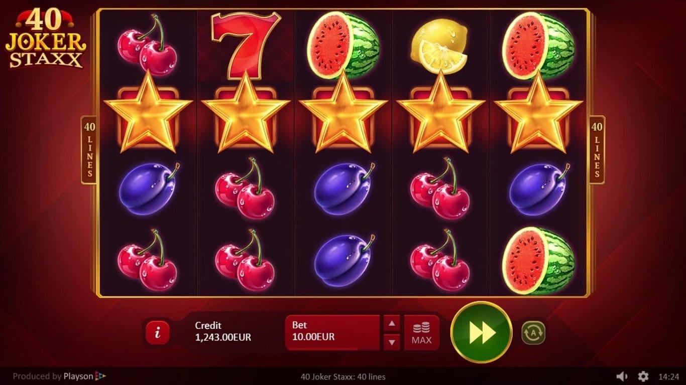40 Joker Staxx Slot Game