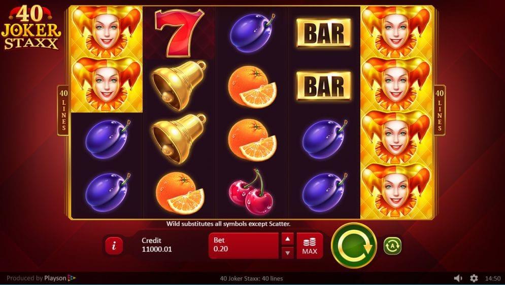 40 Joker Staxx Free Slots