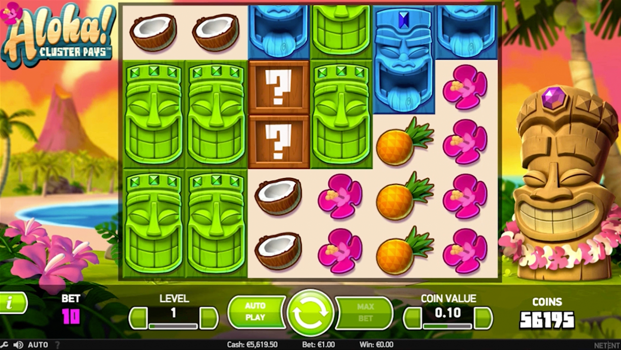 Aloha! Cluster Pays Gameplay Casino