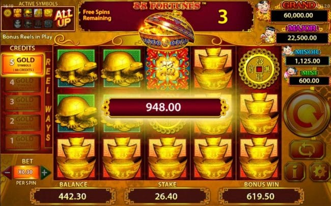 88 Fortunes Free Slots