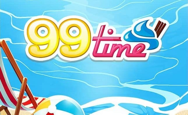 99 Time Slot Logo Slots Racer