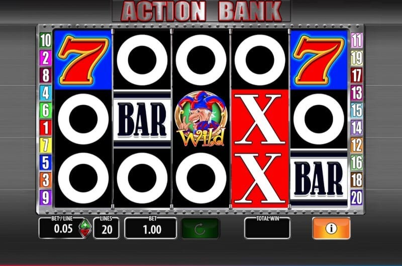 Action Bank Slot Gameplay