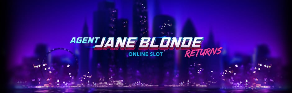 Agent Jane Blonde Returns Slots Racer