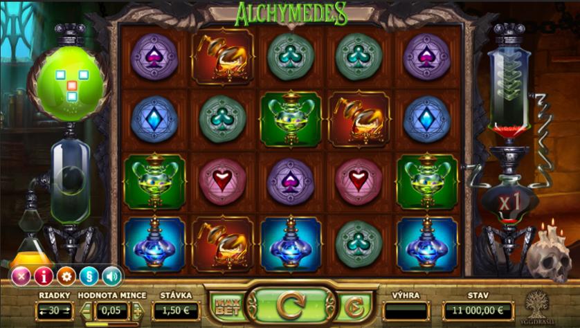 Alchymedes Slots Online