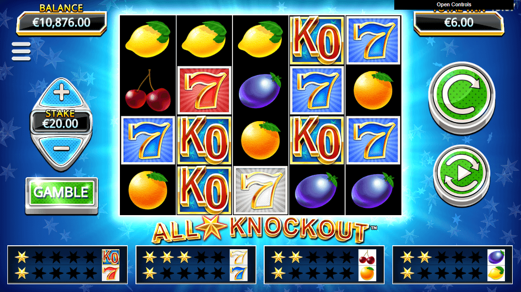 All Star Knockout Slots Game