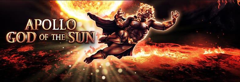 Apollo God of the Sun Slot Logo Slots Racer
