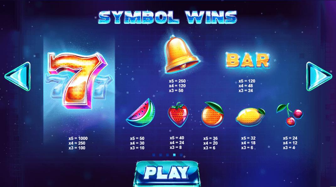 Arcade Bomb Slot Symbols