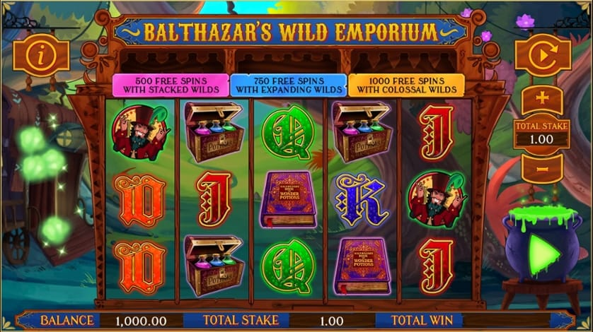 Balthazar's Wild Emporium Game Play