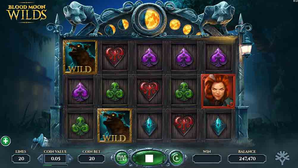 Blood Moon Wilds Slot Game