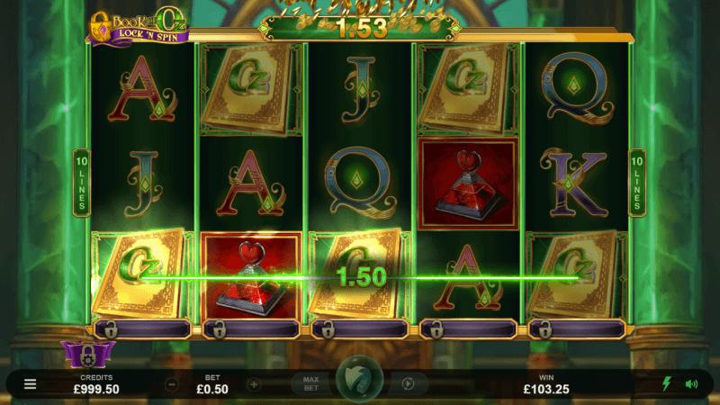 Book of Oz Lock 'N Spin Slots Online