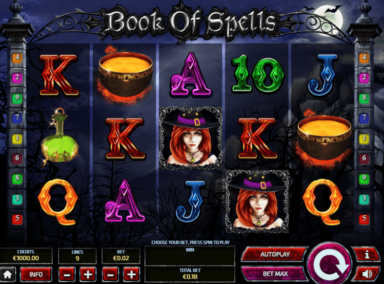 Book of Spells Free Slots