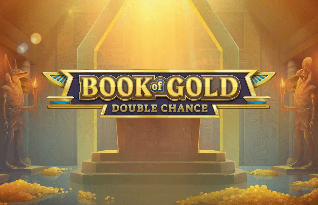 Book of Gold: Double Chance Slot Logo Slots Racer