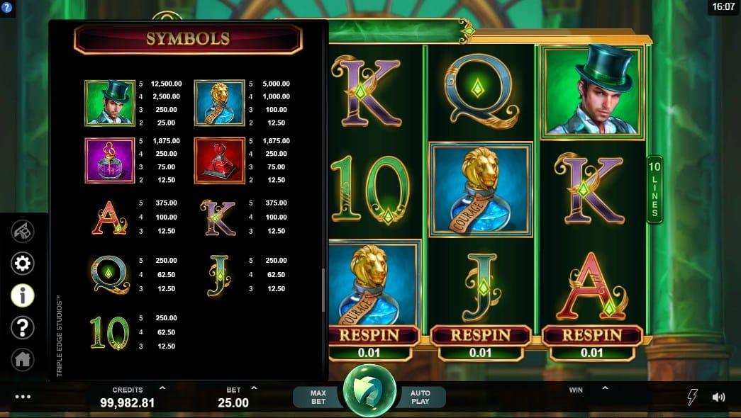 Book of Oz Casino Games