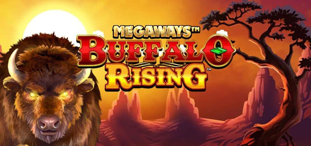 Buffalo Rising Megaways Slot Logo Slots Racer