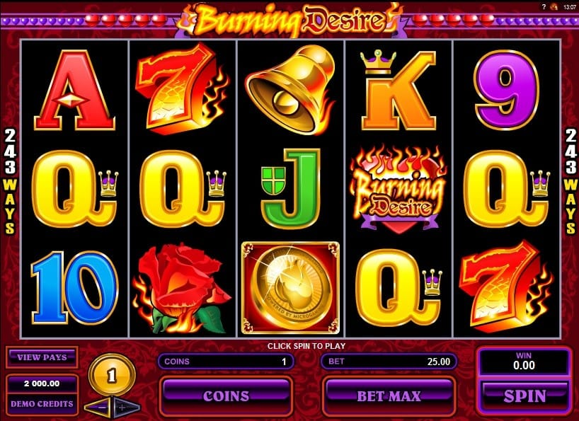 Burning Desire Slot Game