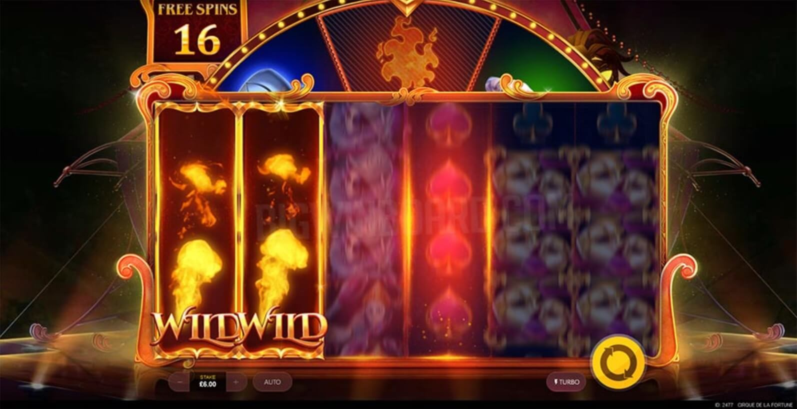Cirque De La Fortune Slots Online