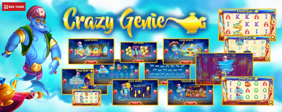 Crazy Genie Slots Features