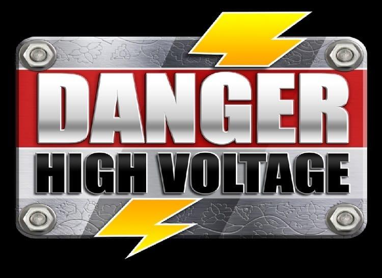 Danger! High Voltage Slot Logo Slots Racer