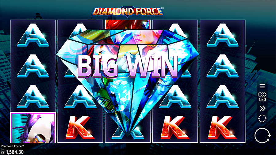 Diamond Force Slot Big Win