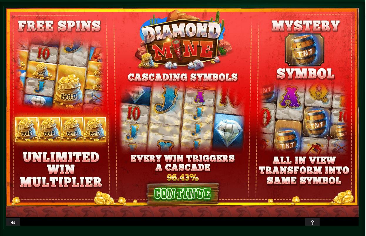Diamond Mine Video Slots