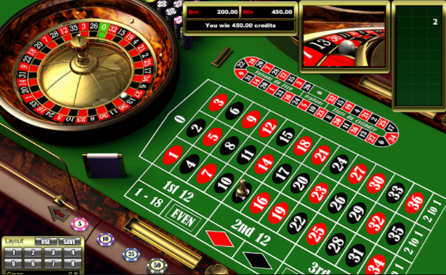 European Roulette Table Image