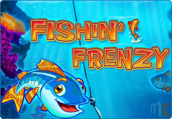 Fishin Frenzy Megaways Slot Game Logo