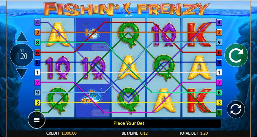 Fishin' Frenzy SlotsGames