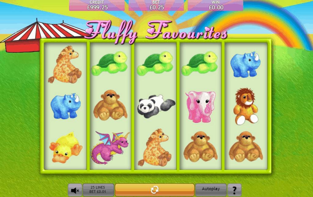 Fluffy Favourites Slot Online