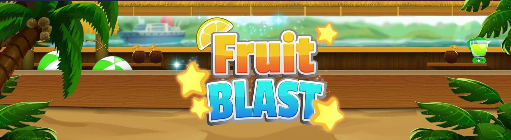 Fruit Blast Slot Logo Slots Racer