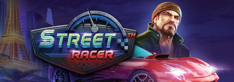 Street Racer Slot Logo Slots Racer