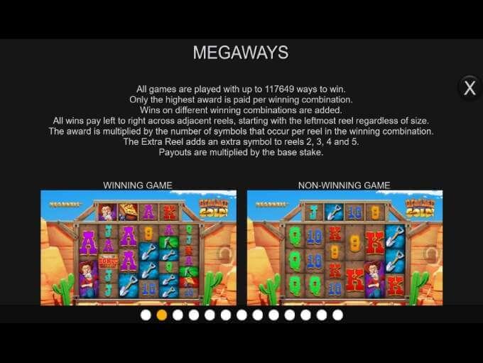 Gimme Gold Megaways Slot Gameplay