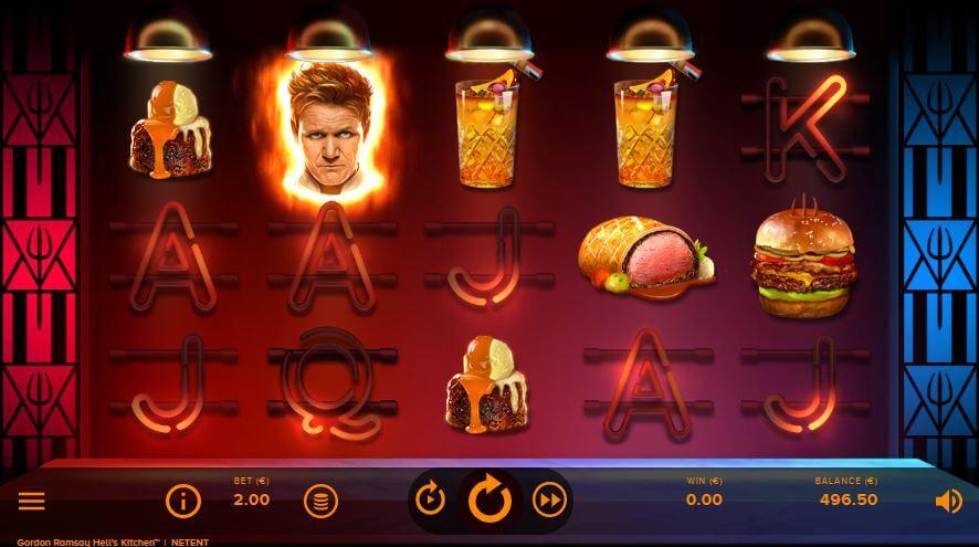Gordon Ramsay Hells Kitchen Slot Gameplay