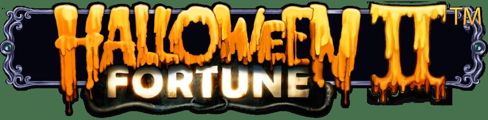 Halloween Fortune II Slot Logo Slots Racer