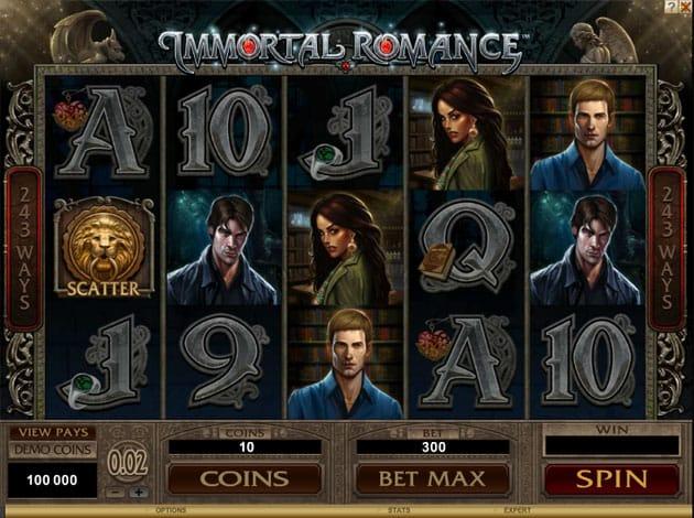 immortal romance gameplay casino