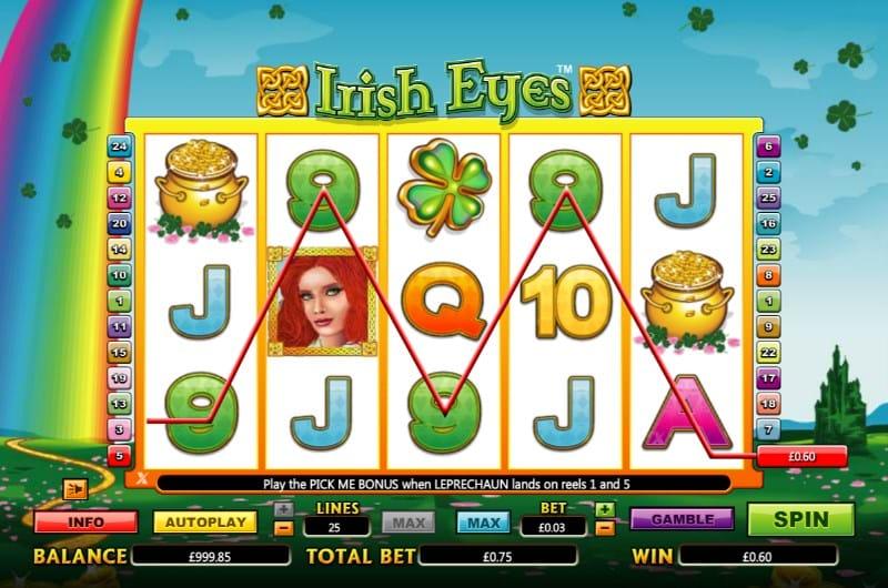 Irish Eyes Slot Online