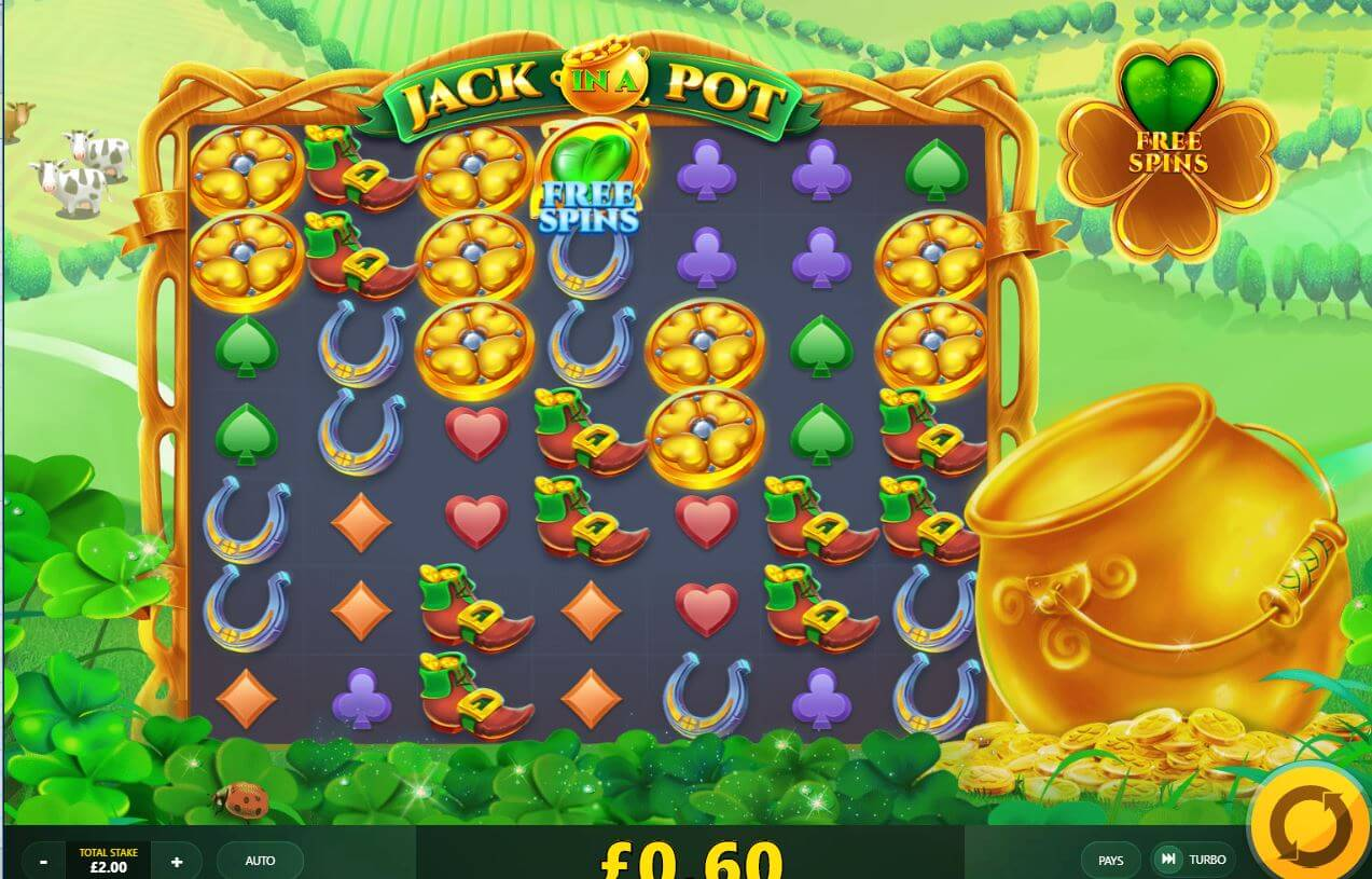 Jack in a Pot Slot Gameplay