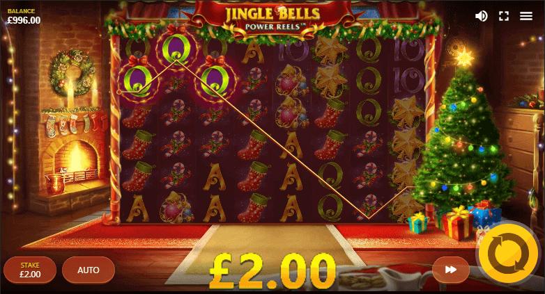 Jingle Bells Power Reels Gameplay