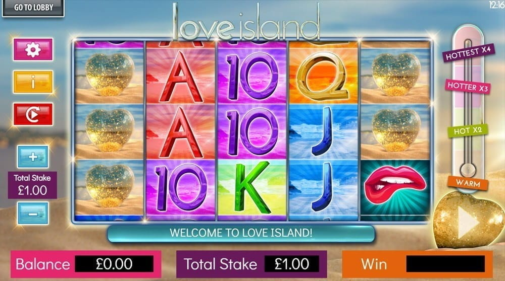 Love Island Review Slot Gameplay