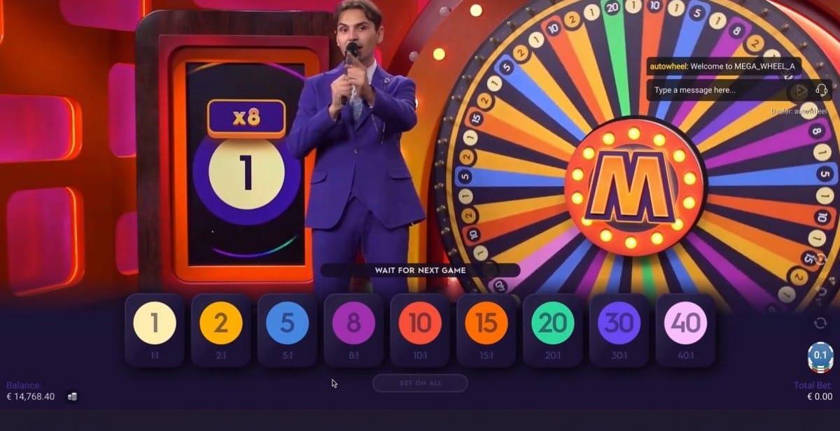 Mega Wheel Slots Gameplay