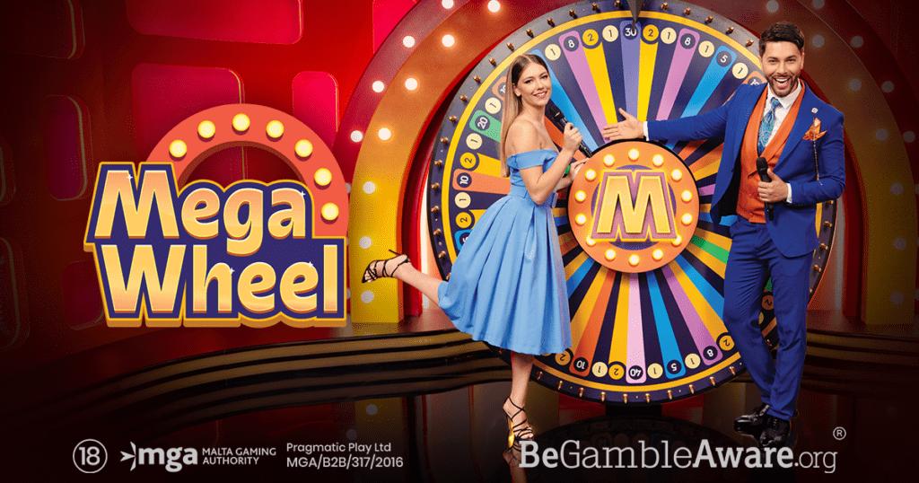 Mega Wheel Slot Logo Slots Racer