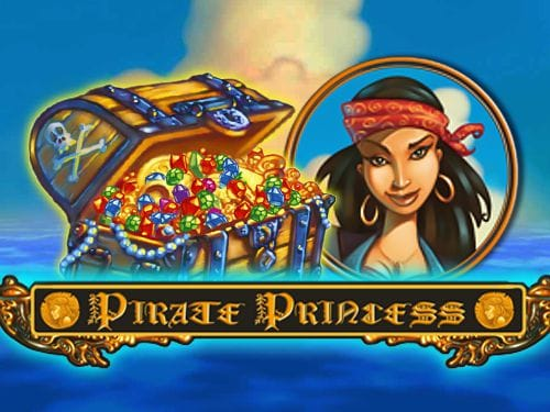 Pirate Princess Slot Logo Slots Racer