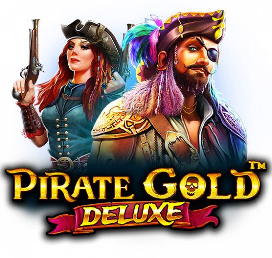 Pirate Gold Deluxe Slot Logo Slots Racer