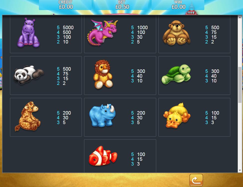 Fluffy Too Jackpot Slot Symbols