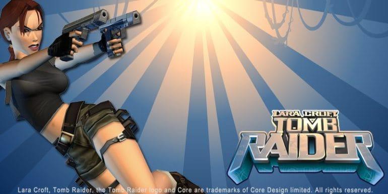 Tomb Raider Online Slot Logo