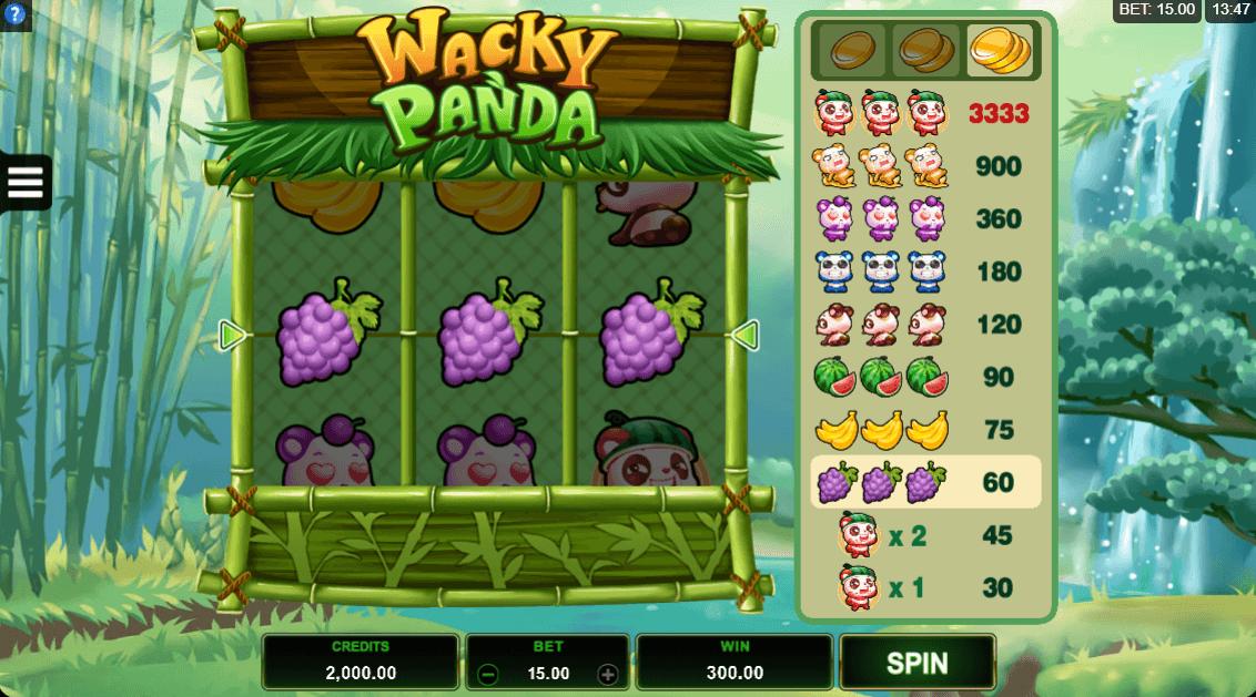 Wacky Panda Slots
