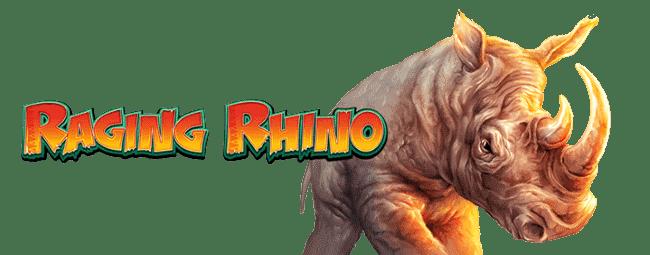 Raging Rhino Slot Logo Slots Racer