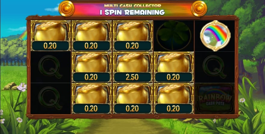 Rainbow Cash Pot Slot Game